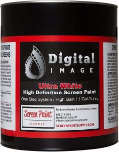 Digital Image Projector Screen Paint