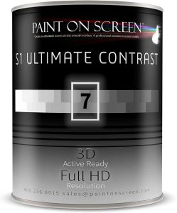Paint On Screen Projector Screen Paint