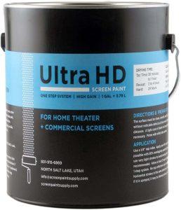 Ultra HD Premium Projector Screen Paint