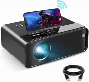 ELEPHAS W13 1080p Supported Mini Projector