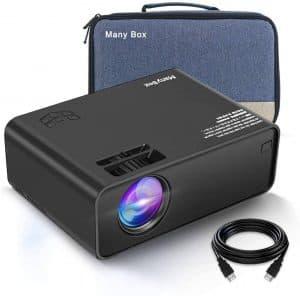ManyBox V501 45000hrs LED Lamp Mini Projector
