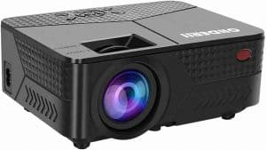 Ohderii Mini 1080p Supported LED Projector