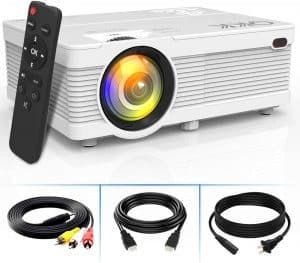 Projector 0501 1080p Supported Mini Projector
