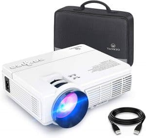 Vankyo Leisure 3 Mini 1080p Supported LED Projector