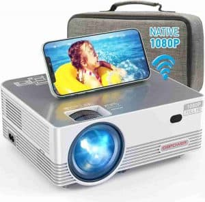 DBPOWER Q6 1080p Home Theater Projector