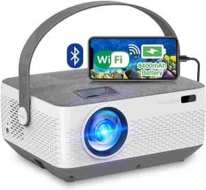 FANGOR F601 Rechargeable Mini Portable Projector