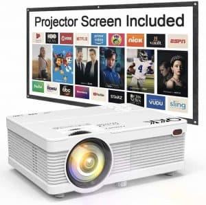 QK02 170inch Portable Video Projector