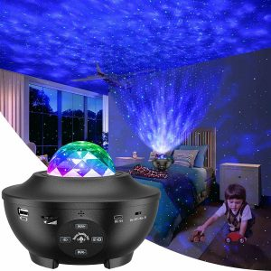 LBell Night Light Galaxy Star Projector