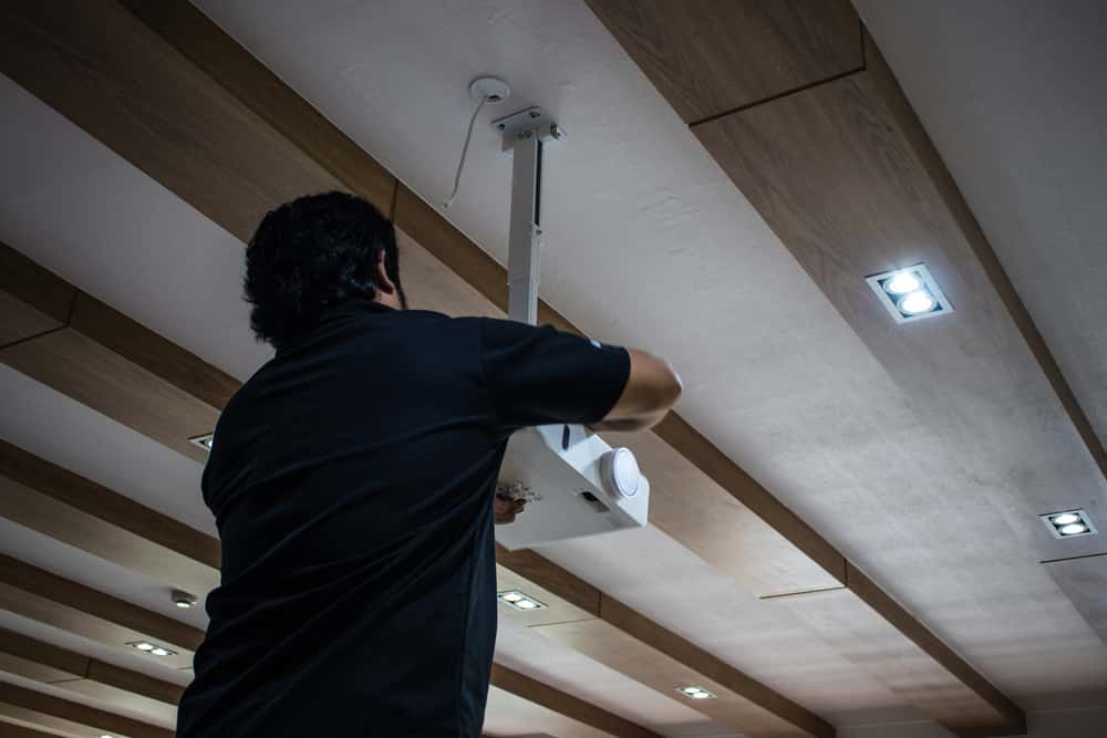 Installation Flexibility of Projector Mount