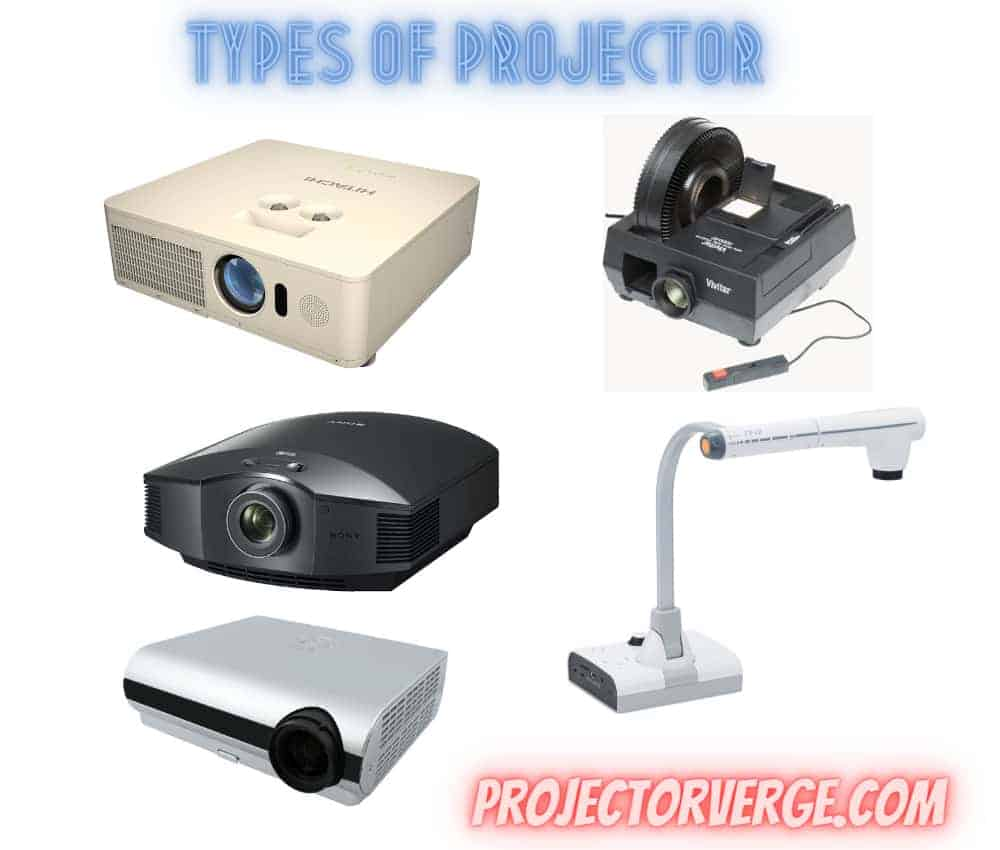 Types of Projectors