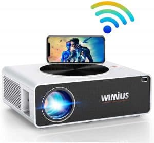 WiMiUS K3 7500Lux 4K Support Projector