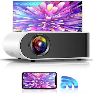 GooDee W18 Mini WiFi Movie Android Projector