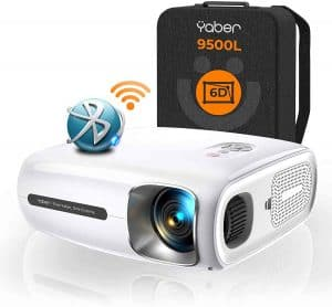 YABER Pro V7 Wireless Portable Android Projector