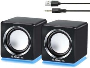 Arvicka SP-106 LED Accent USB Projector Speaker