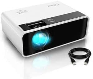 CiBest W13 LED Portable iPhone Projector
