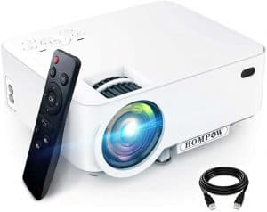 HOMPOW T20 Smartphone Portable Projector