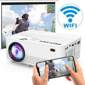 Poyank TP-01 Full HD Supported Mini Wi-Fi Projector