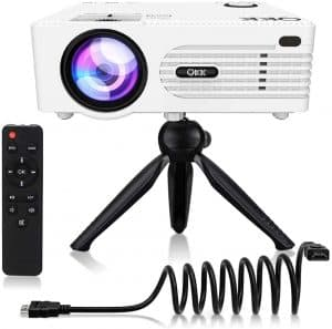 QKK QK01 2021 6000Lumens Mini iPhone Projector