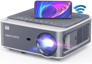 DBPOWER RD828 1080p 8500L Wi-Fi Projector