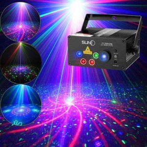 Suny Z128RGRB 5 Lens 3 Color Gobo Wedding Projector