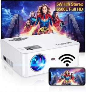 WiMiUS S2 6500L HD Portable Projector